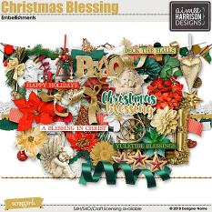 Christmas Blessing Elements