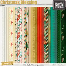 Christmas Blessing Papers