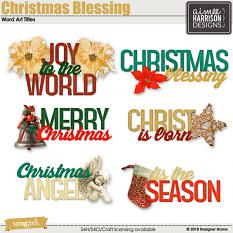 Christmas Blessing Titles