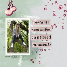 Layout using ScrapSimple Digital Layout Collection:Memory Of Red