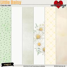 ScrapSimple Digital Layout Collection:Little Daisy