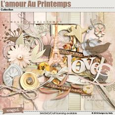 L'amour Au Printemps Collection by Designs by Helly