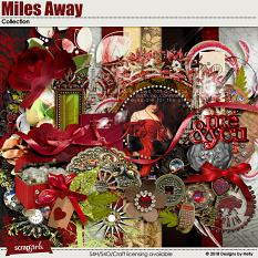 Miles Away Collection by Designs by Helly