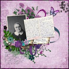 Layout using Love Letters