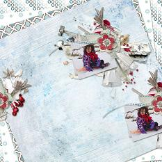 Winter Frost Patterned Papers