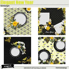 Elegant New Year Quickpages