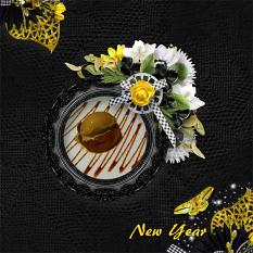 Elegant New Year Quickpages details