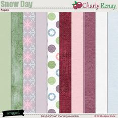 Snow Day Mini Papers By Charly Renay