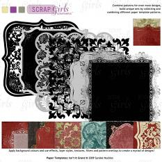Included in Design Pack: ScrapSimple Paper Templates: Isn't it Grand