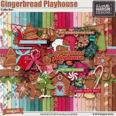 Gingerbread Playhouse Collection