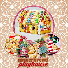 Gingerbread Playhouse Layout