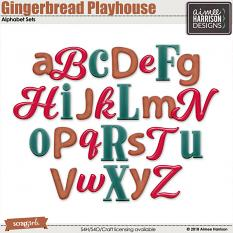 Gingerbread Playhouse Alphas