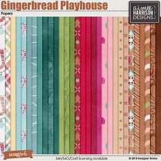 Gingerbread Playhouse Papers