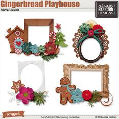 Gingerbread Playhouse Frames