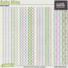 Baby Mine Extra Papers