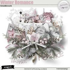 Winter Romance Embellishments