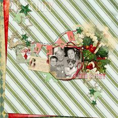 Layout by Debby using Scrapping your Xmas Collection Mini by Aftermidnight Design