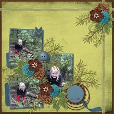 Layout  Made With Backwoods Collection By Charly Renay
