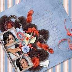 Old Feelings Patterned Papers details