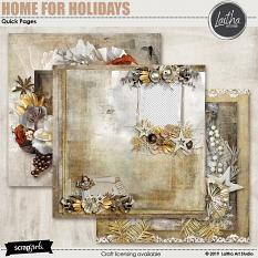 Home For Holidays - Quick Pages