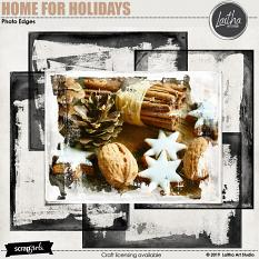 Home For Holidays - Photo Edges