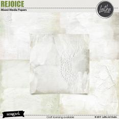 Rejoice - Mixed Media Papers