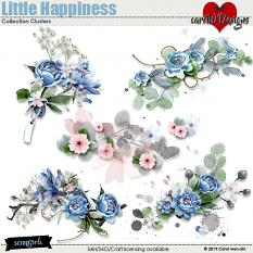 ScrapSimple Digital Layout Collection:Little Happiness