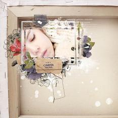layout using Snapshots Collection Biggie by Florju Designs