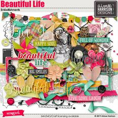 Beautiful Life Embellishements