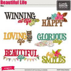 Beautiful Life Titles