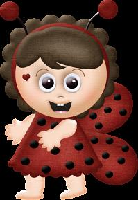 Scrapsimple Embellishment Templates:Sweet Ladybugs By Charly Renay