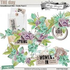 THE day Embellishment Mini : Cluster Pack 2 by Florju Designs