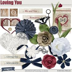 Loving You Embellishments