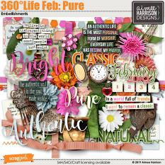 360°Life Feb: Pure Embellishments