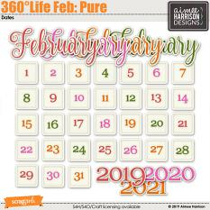 360°Life Feb: Pure Date Tabs