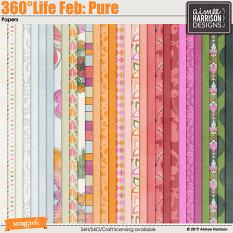 360°Life Feb: Pure Papers