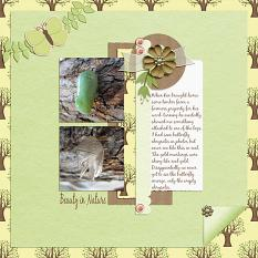 Layout made by A-M using Fresh Start By Charly Renay