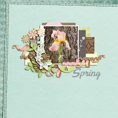 Layout made by Tomosia using Fresh Start By Charly Renay
