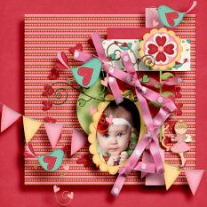 Layout made with Love Is Collection By Charly Renay