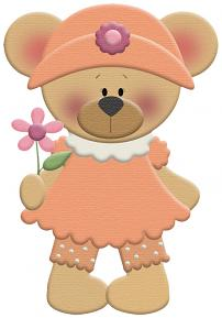 psimple Embellishment Templates: Spring Bears By Charly Renay