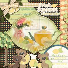 Layout made with Citrus Breeze Collection By Charly Renay
