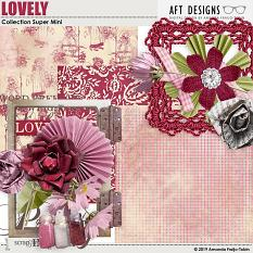 Lovely Collection Super Mini by AFT Designs - Amanda Fraijo-Tobin @ScrapGirls.com