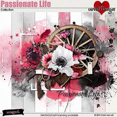 ScrapSimple Digital Layout Collection:Passionate Life