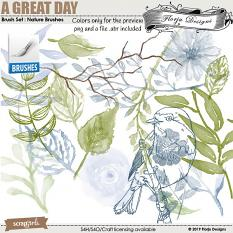layout using Value Pack: A Great Day by Florju designs