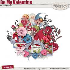 Be My Valentine Embellishments by On A Whimsical Adventure