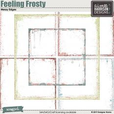 Feeling Frosty Messy Edges