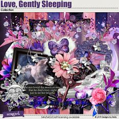 Love Gently Sleeping Collection by Designs by Helly
