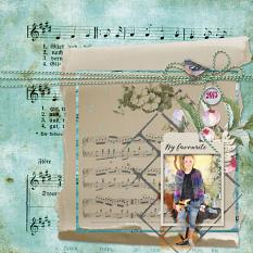 Layout by Debby Leonard using Musical Dreams by Aftermidnight Design