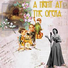 Layout by Marie Hoorne using Musical Dreams by Aftermidnight Design