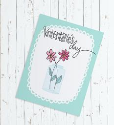 Cards created with Planner Girl - Lovely Brush set